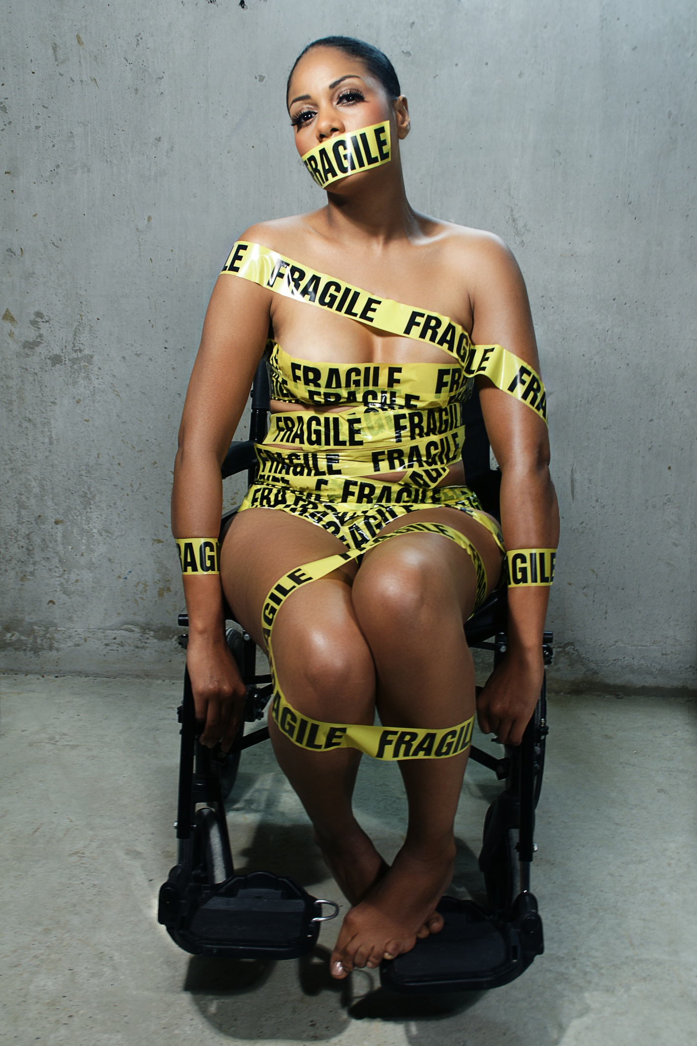 Fragile, from Bound, by Anthony David King and Samona Naomi Williams