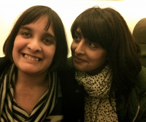 With my fabulous sister, Raana