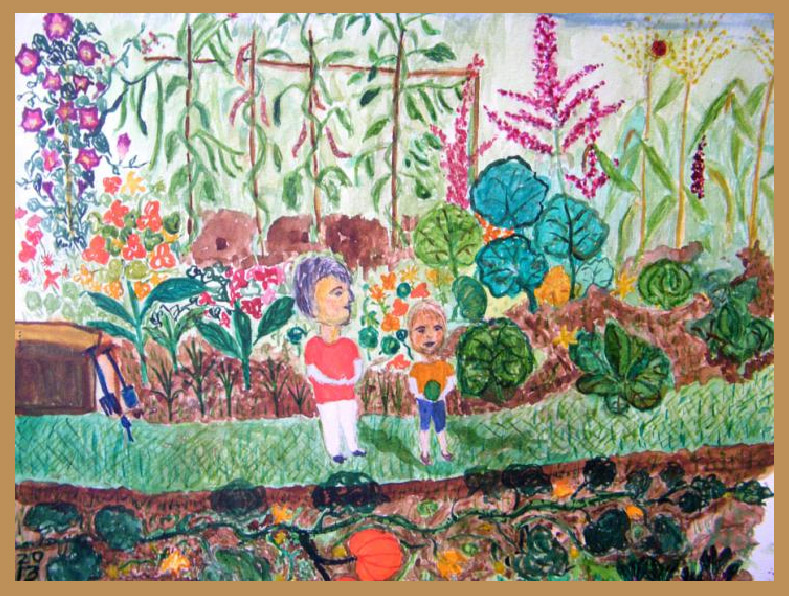 Marjorie McLean, My Allotment
