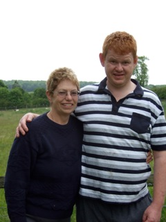Ann Earley and her son Simon, who was abused at Winterbourne View specialist unit in 2011