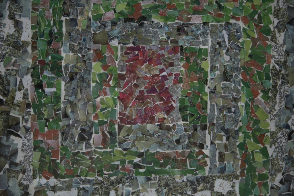Mosaic collage, Raana Salman