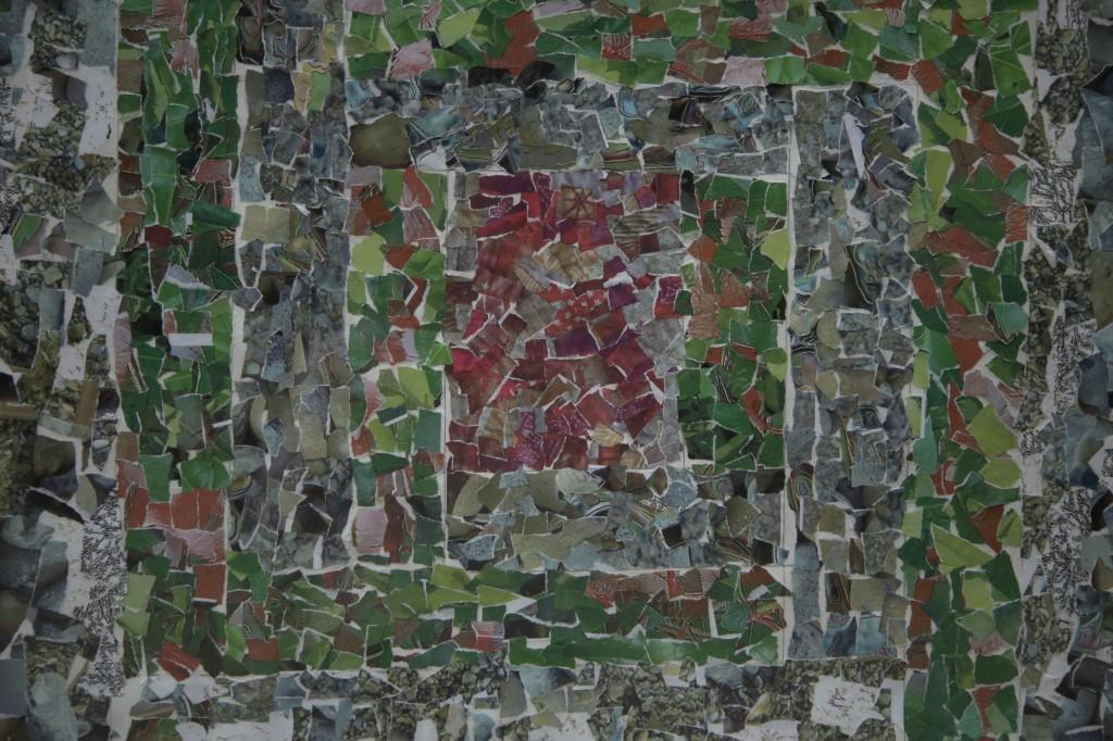 Mosaic collage, Raana Salman