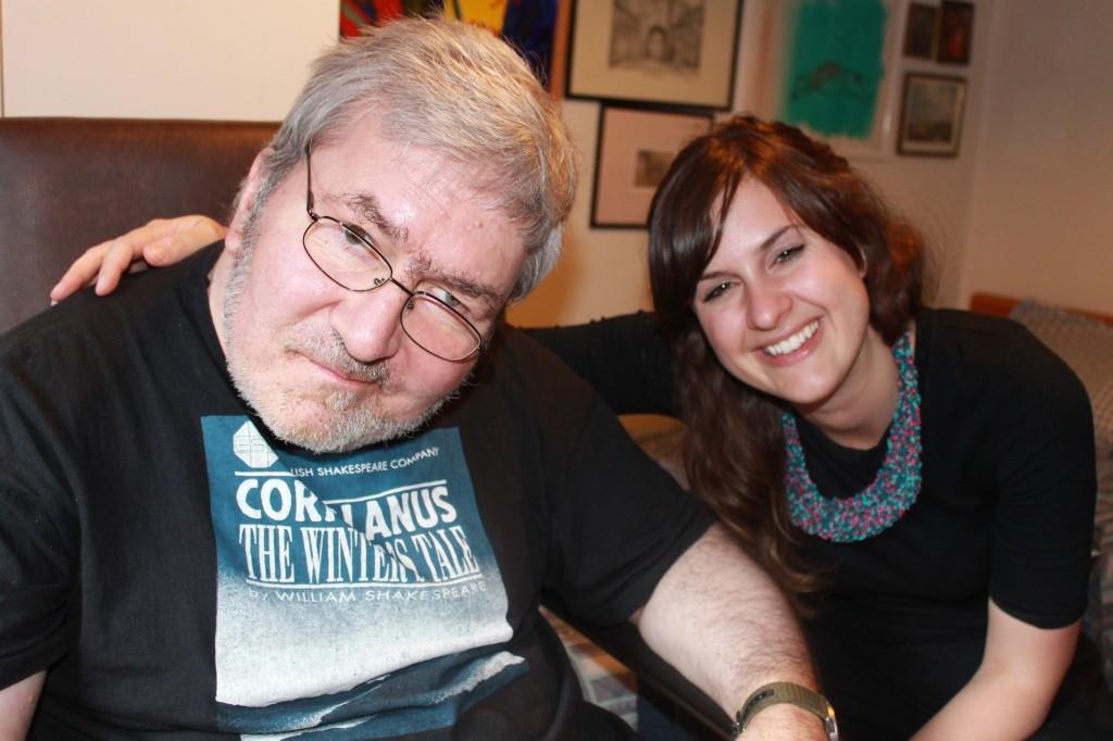 Richard Turner and his volunteer befriender, Delia Jones