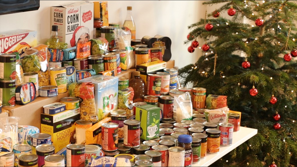 Food donated to FoodHub, for distribution to charities and food banks (pic: FoodHub)