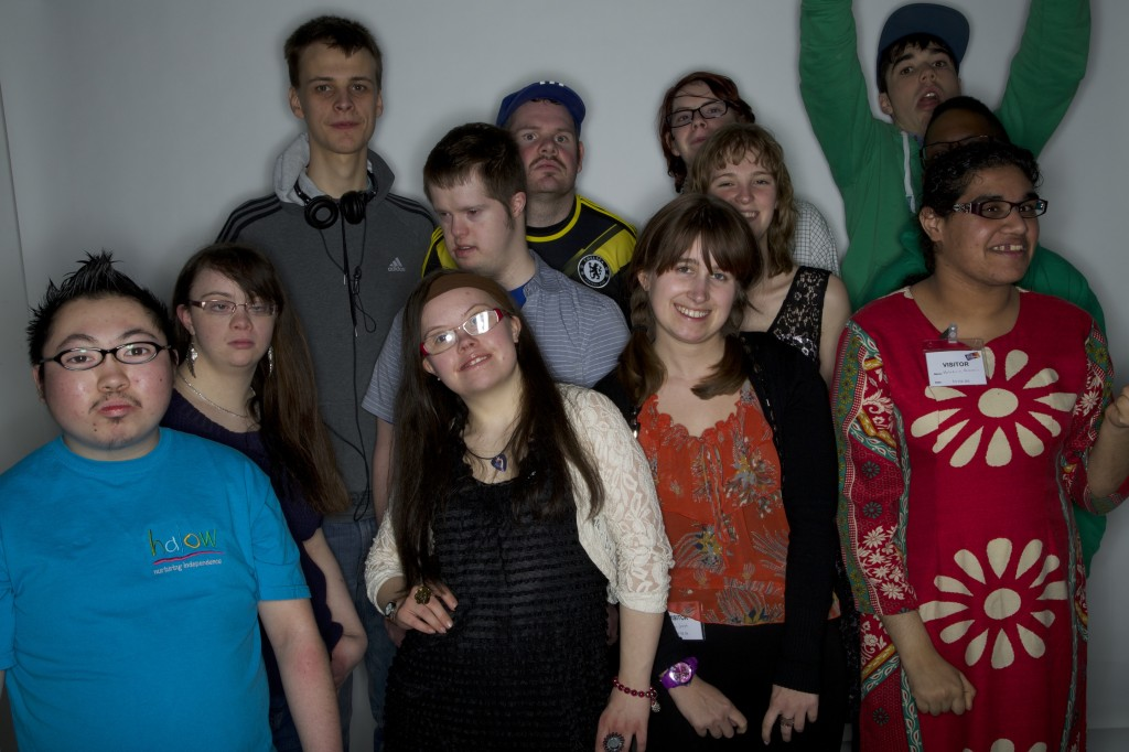 Young people from the halow project (pic: Kitty Day)