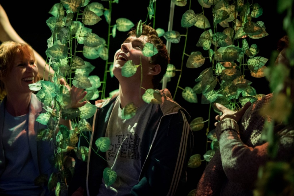 The Forest, by theatre company Frozen Light, immerses the audience is in the multi-sensory world of  (pic: JMA Photography)