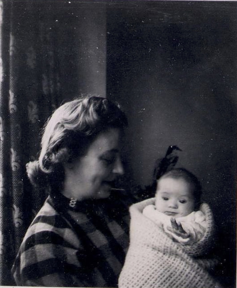 Newborn Kim Wolf, who partly inspired a new poetry project (photo: Rogan Wolf)