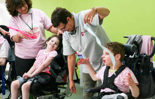Dance school Flamingo Chicks runs inclusive ballet classes for children of all abilities.