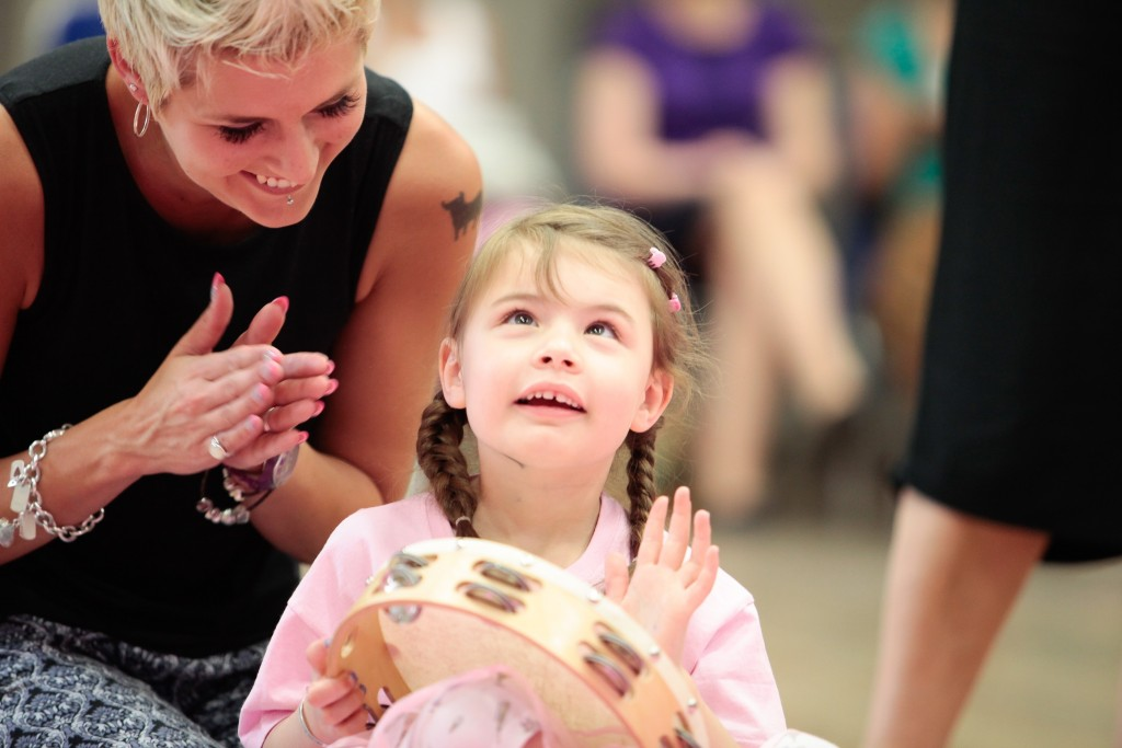 An inclusive ballet session at  ballet school Flamingo Chicks (photo: Flamingo Chicks)