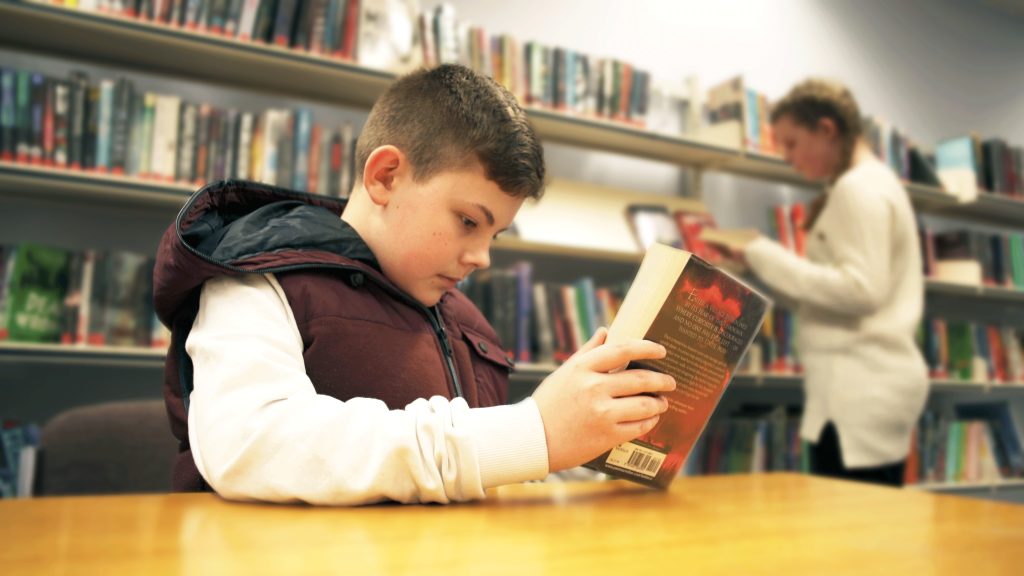 Brody Ginn, who features in a training video to help create a network of autism-friendly libraries (pic: Dimensions)