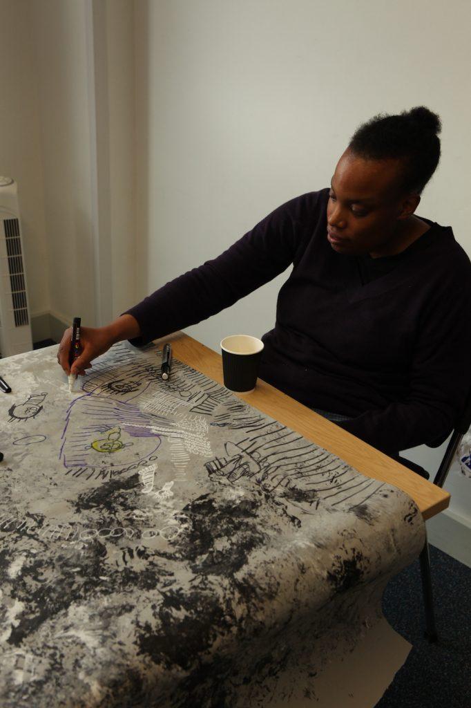Drawing and detailing at Redstart Arts