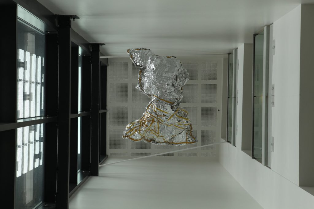 Sculpture produced for weatherSCAPE by Redstart Arts