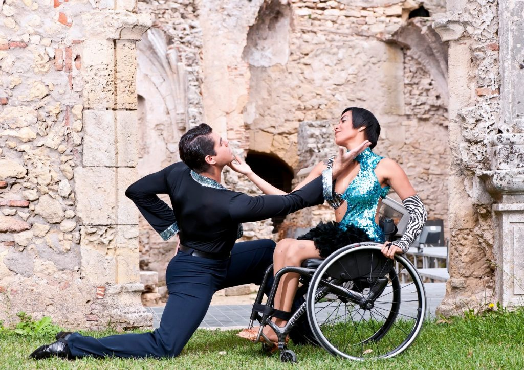 Nuno Sabroso & Daniele Oliveira, former wheelchair world dance champions, will perform at the WDSA event on Saturday.
