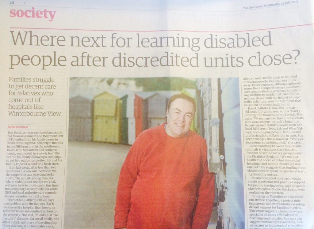 Today's Guardian article